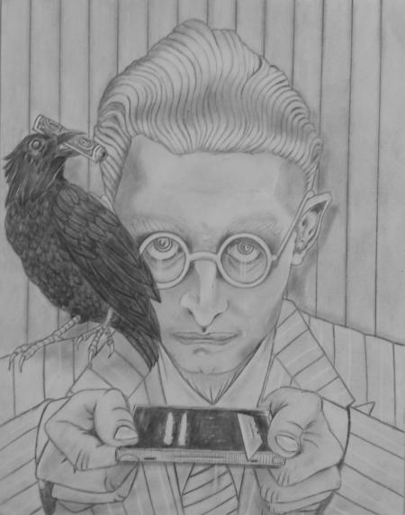 Whitey and His Raven